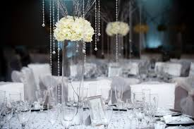 banquet centerpieces table arrangements for wedding reception centerpieces white