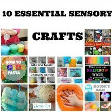 10 Essentials For A Kid by 12 Best Sensory Crafts Images On Sensory Activities