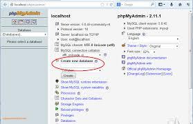 cara membuat database baru mysql cara membuat database dan table mysql menggunakan phpmyadmin