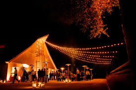 wedding reception ideas transforming décor with string lights