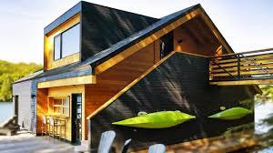 House Design New York Lake Joseph Boathouse In New York Adorable Small House Design