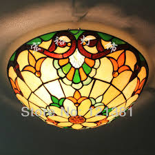 Stained Glass Light Fixtures Dining Room Ceiling Light Below Shows More Details Of The L 12 Inch