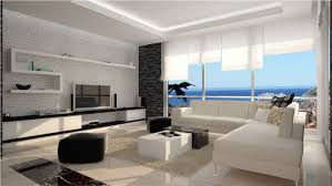 white off wall luxury apartments can be decor with white sofas on