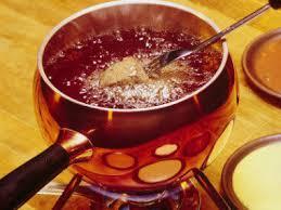 cuisiner viande à fondue fondue bourguignonne aux 4 viandes ées 80