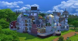 i built a massively chaotic house in ts4 album on imgur