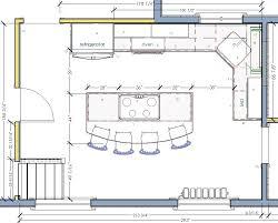 island kitchen floor plans commercial kitchen floor plan kitchen floor plans with island
