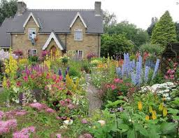 garden and lawn romantic english garden design cottage english