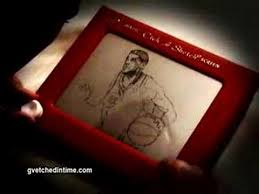 nba finals lebron etch a sketch youtube
