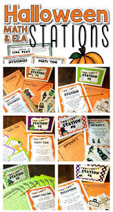 4th grade halloween party ideas halloween math 3rd grade halloween math centers ela centers