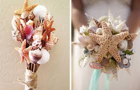 wedding bouquets with seashells 9 diy alternative bridal bouquets