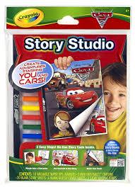 amazon com crayola story studio comic maker cars 2 toys u0026 games