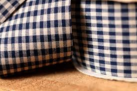 gingham ribbon navy blue gingham check ribbon 2 5 8 inch width the