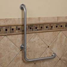 Handicapped Accessories For The Bathroom by Pickens L Shape Grab Bar Bathroom