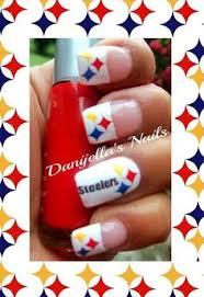 steelers the nails i did pinterest