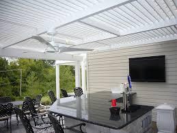 Louvered Patio Roof Louvered Roof Details West Palm Beach U2014 Myamazingyard Com