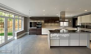 Brand New Kitchen Designs Modern Home Kitchen Design With Marble Countertop Stainless Steel