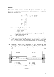 axial displacement finite element methods in engineering