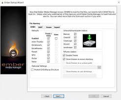 install and setup ember media manager best media manager for kodi