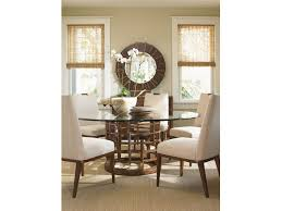 tommy bahama dining table tommy bahama home dining room meridien round dining table base 556