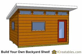 How To Make A Small Outdoor Shed by Modern Shed Plans Modern Diy Office U0026 Studio Shed Designs