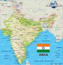 New Delhi India Map by Map Of India Map In The Atlas Of The World World Atlas