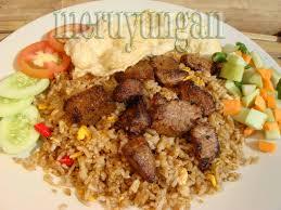 cara membuat nasi goreng ayam dalam bahasa inggris istilah bahan dapur dalam bahasa inggris meruyungan