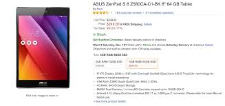 black friday amazon asus deal asus zenpad s 32gb selling on amazon for 159 only 249 for