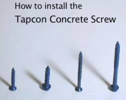 Kitchen Cabinet Fasteners Cabinets With Tapcon Screws