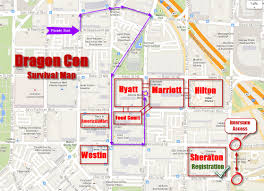 Map My Route by Dragon Con Survival Map Now With New Parade Route And