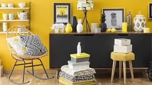 cuisine noir et jaune deco cuisine gris et noir 0 s233lection d233co graphique en jaune
