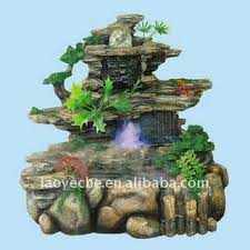 fountain for home decoration 1327 resin rockery water fountain indoor fountain home decoration