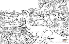 coloriage dinosaures coloriages à imprimer gratuits
