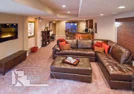Basement Family Room Bar Area Dream Home Pinterest Basement - Family room in basement