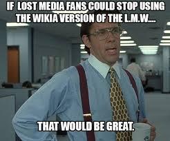 Wiki Meme - lost media wiki memes forums the lost media wiki