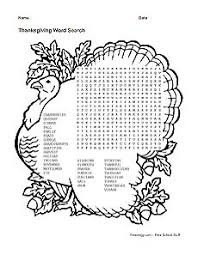 these thanksgiving word puzzles are great for children and