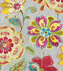 upholstery fabric iman javanese garden blossomupholstery fabric