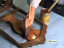 How To Refinish Kitchen Chairs How To Refinish Old Wood Furniture With Minwax Youtube