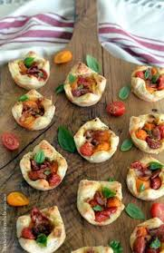 puff pastry canape ideas cheese straw tomato tartlets homeiswheretheboatis canapés