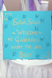 kara u0027s party ideas under the sea first birthday party
