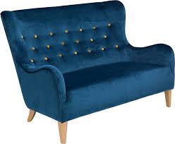 2sitzer sofa max winzer 2 sitzer sofa melina im retrolook mit farbigen
