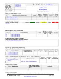 sample progress reports for students