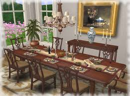 chippendale dining room set second life marketplace dining room furniture
