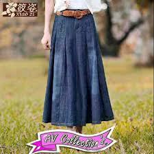 Baju Atasan Rok Levis rok belt v1010