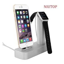 Iphone Holder For Desk by Amazon Es Niutop Apple Watch Stand U0026 Iphone Stand Premium 2 In