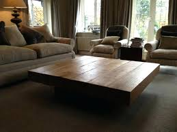 large living room coffee table large square modern coffee table younited co