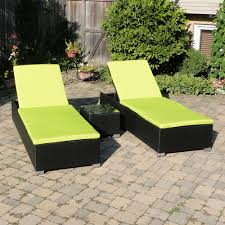enchanting lime green chaise lounge with double chair cushions