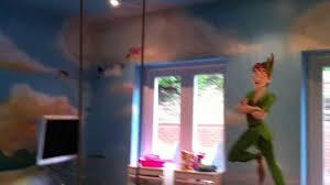 peter pan mural youtube peter pan mural