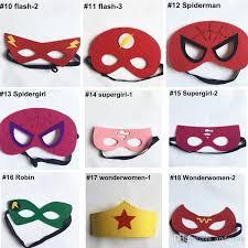 Halloween Costumes Kids Superhero Superhero Mask Superman Batman Spiderman Hulk Thor Ironman Flash