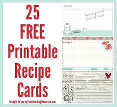 printable recipe cards 4 x 6 4x6 recipe cards for printer hnc