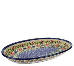 serving plate lidia s pottery serving platter page 1 qvc